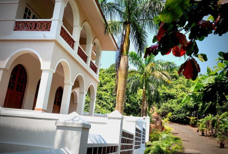 Yoga villa in jungle