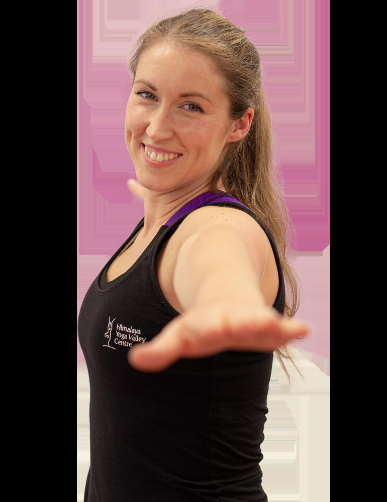 Yoga Teacher smiling